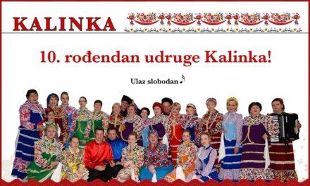 Udruga Kalinka slavi 10 godina