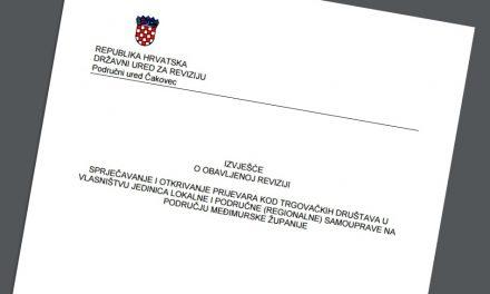 Državna revizija o financiranju medija iz županijskog proračuna