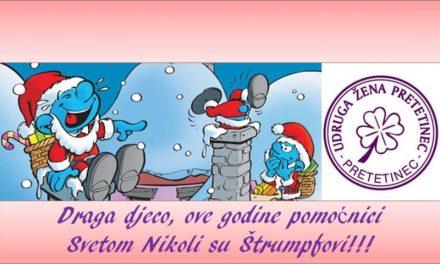 Sv. Nikola dolazi u Pretetinec