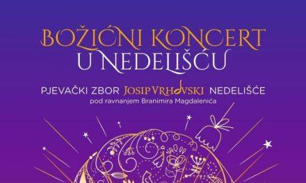 Najavljujemo Božićni koncert u Nedelišću