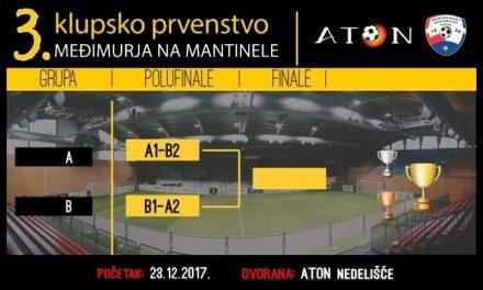 Počelo klupsko prvenstvo Međimurja na mantinele u Atonu
