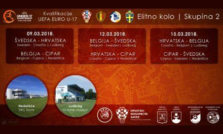 Elitno kolo UEFA U-17 kvalifikacija u Nedelišću