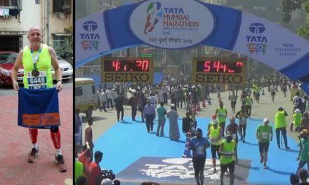 Siniša Trajbar u Indiji istrčao 60. maraton u životu