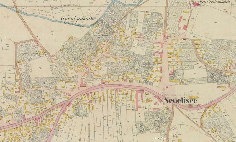 Karte naših naselja 1859. godine