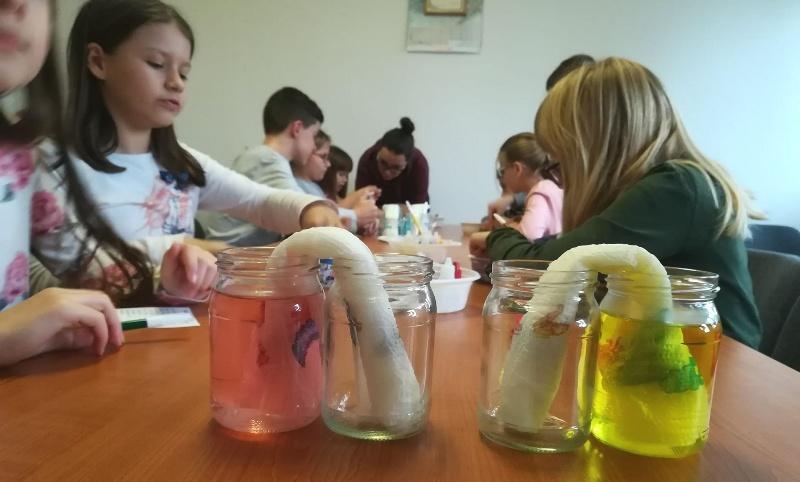 Mali znanstvenici u Pretetincu