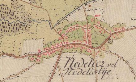 Karta općine Nedelišće 1787. godine