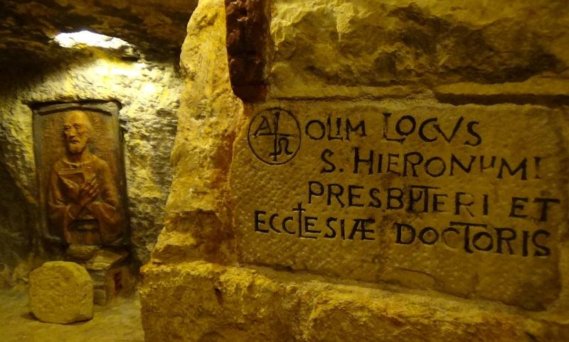 Nedelist na grobu Sv. Jeronima