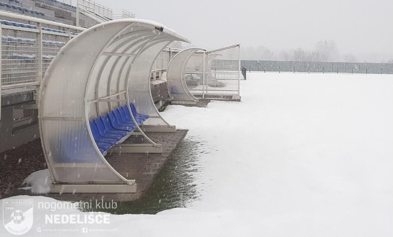 Snijeg oduzeo Nedelišću kvalifikacije UEFA-e