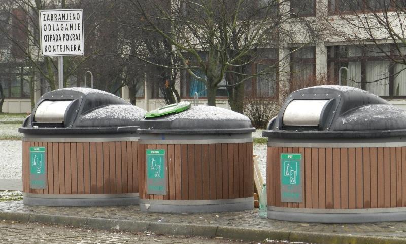 Nove kante i skuplji odvoz smeća