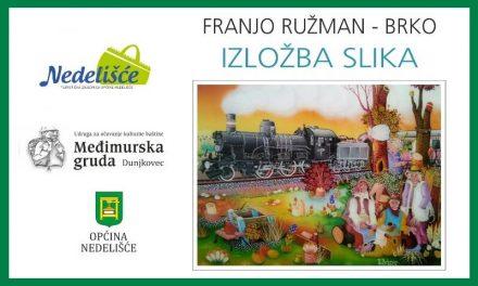 Izložba slika Franje Ružmana Brke u Dunjkovcu