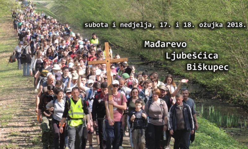 Križni put mladih Varaždinske biskupije