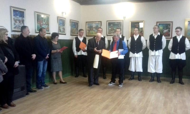 Uspješna izložba slika Franje Ružmana u Dunjkovcu