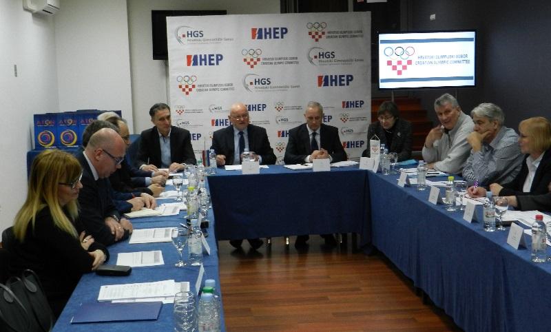Održana sjednica Vijeća Hrvatskog olimpijskog odbora u Nedelišću