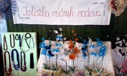 U Dunjkovcu održana izložba ručnih radova