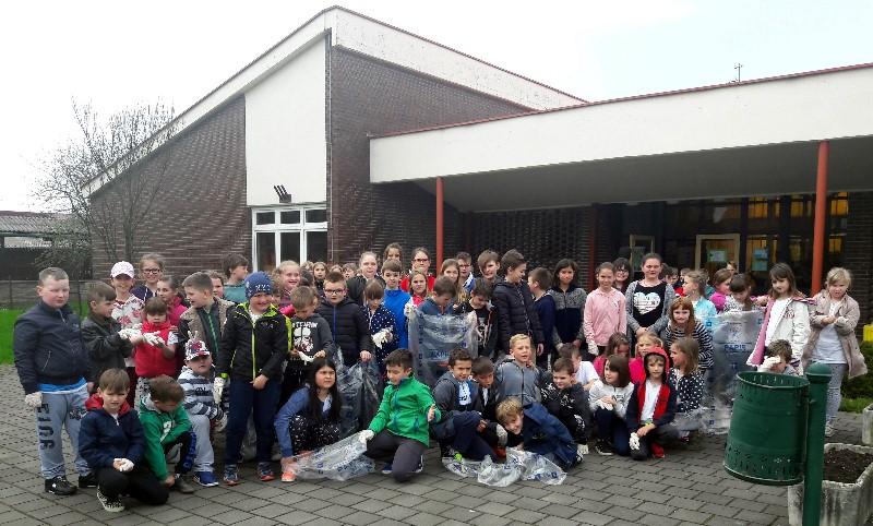 Akcija Više cvijeća-manje smeća održana i u PŠ Dunjkovec