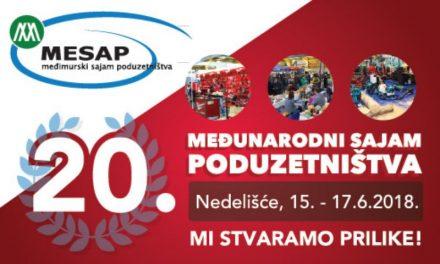 Poziv poduzetnicima na sajam MESAP 2018.