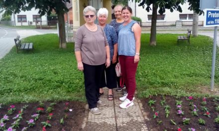 Vrijedne članice Udruge žena Pretetinec uredile svoje mjesto