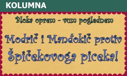 Modrič i Manđokič protiv Špičekovoga piceka!