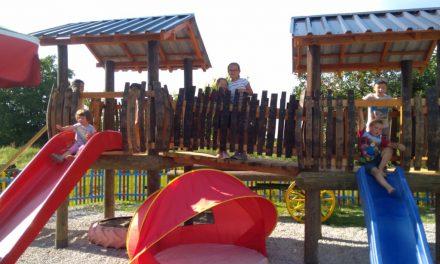 Društvo sportske rekreacije Grabanica otvorilo dječje igralište Grabicu