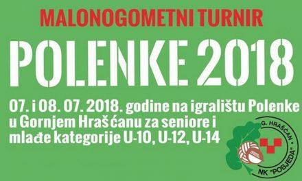 Najava: Malonogometni turnir Polenke u Gornjem Hrašćanu