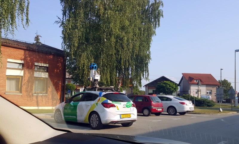 Google auto u Nedelišću
