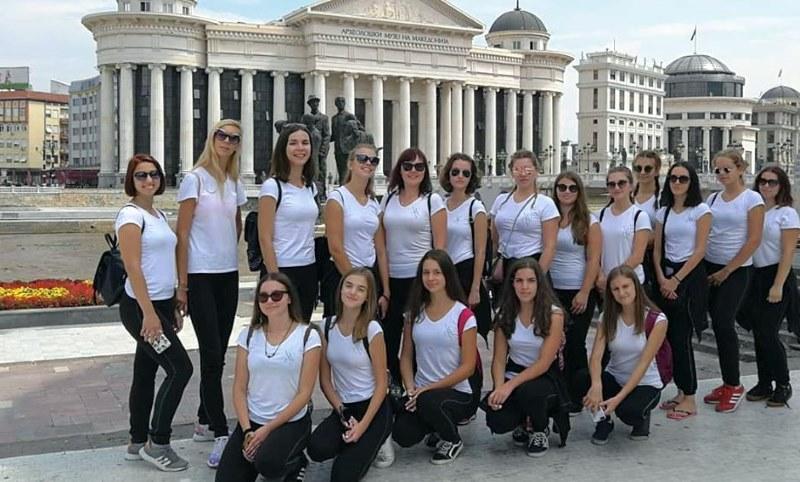 Mažoretkinje Nedelišća na turneji u Makedoniji i Puli