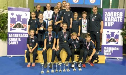 Karatistima Globusa devet zlata sa Zagreb karate cupa