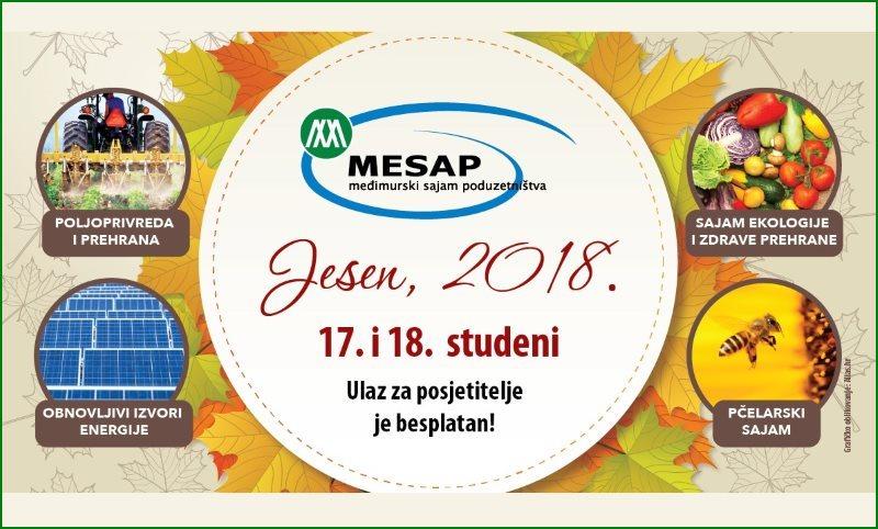 """Poziv izlagačima za prijave na """"MESAP Jesen 2018"""""""
