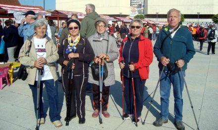 Grupa nordijskog hodanja u Varaždinu