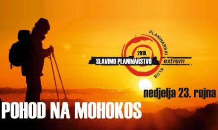 Planinarski klub Extrem organizira pohod na Mohokos