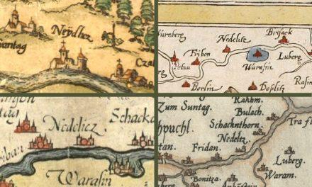 Najstarija karta s Nedelišćem – 1550. godine