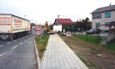 Nastavljena obnova pješačke staze u Varaždinskoj ulici
