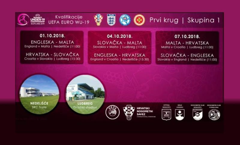 Hrvatska U-19 ženska reprezentacija u Nedelišću