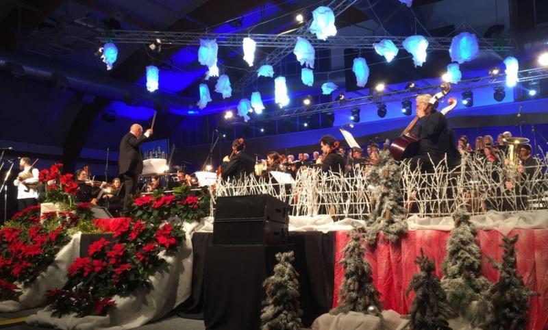 Božićni spektakl u Nedelišću