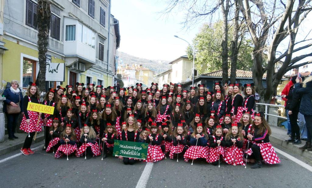 Nedelišćanke sudjelovale na još jednom velikom međunarodnom karnevalu