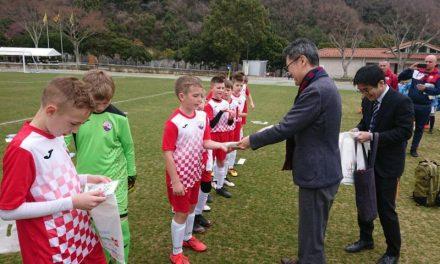 Mladi nogometaši odigrali četiri utakmice u Japanu
