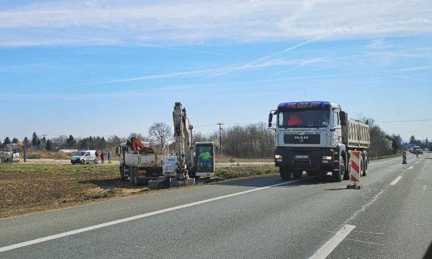 Počeli radovi na pristupnoj cesti prema gospodarskoj zoni