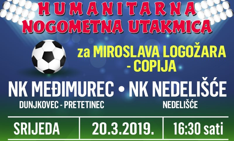 Najava: U srijedu humanitarna utakmica između Međimurca i Nedelišća