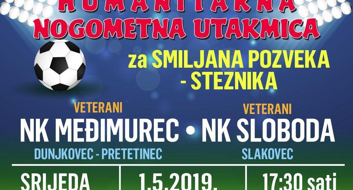 Najava: U srijedu humanitarna utakmica između vetarana Međimurca i Slobode