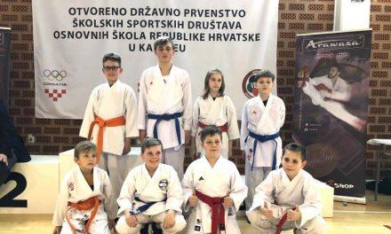 Ekipa OŠ Nedelišće odlična na državnom prvenstvu u karateu