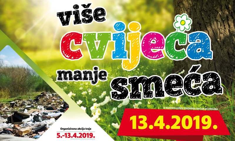 AKCIJA Više cvijeća, manje smeća 2019.
