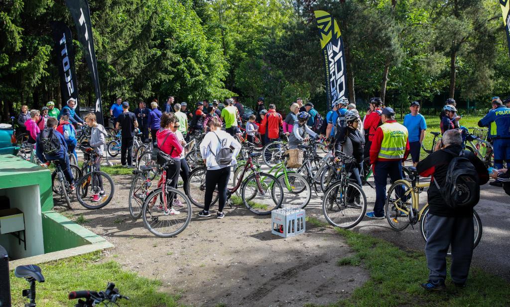 Na proljetnoj biciklijadi sudjelovalo dvjestotinjak biciklista