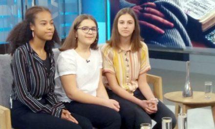 Učenice OŠ Nedelišće gostovale u emisiji Dobar dan, Hrvatska