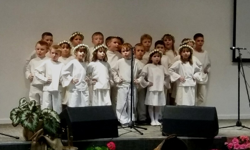 Mališani iz DV Zvončić nastupili su na Dječjoj smotri međimurskih popevki