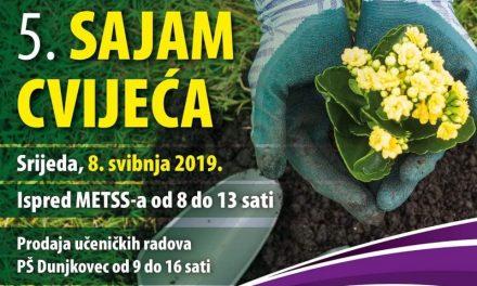 Najava: 5. Sajam cvijeća u Dunjkovcu