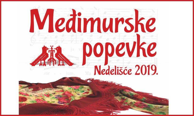 Najava: 35. smotra Međimurske popevke Nedelišće 2019.