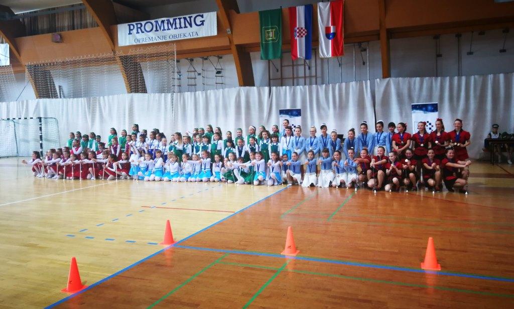 U Nedelišću održan prvi regionalni Mažoret turnir