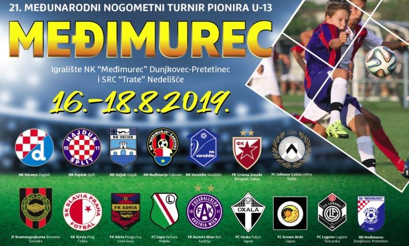 Na U-13 turnir Međimurec 2019. dolaze ekipe iz 10 zemalja