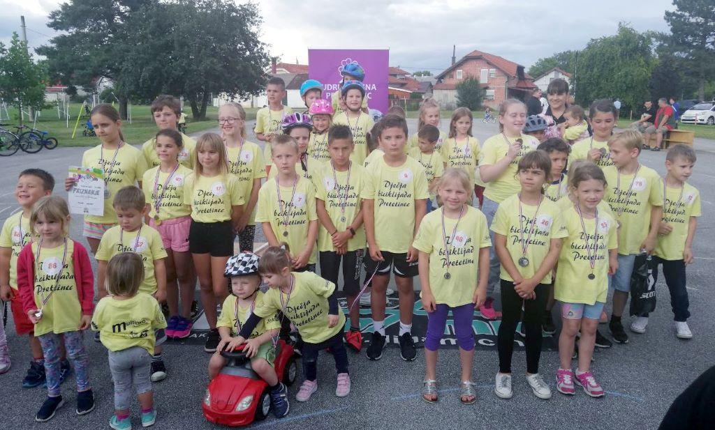 Tko je bio najbolji na dječjoj biciklijadi u Pretetincu?