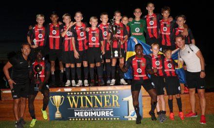 Švedski Brommapojkarna pobjednik turnira Međimurec U13